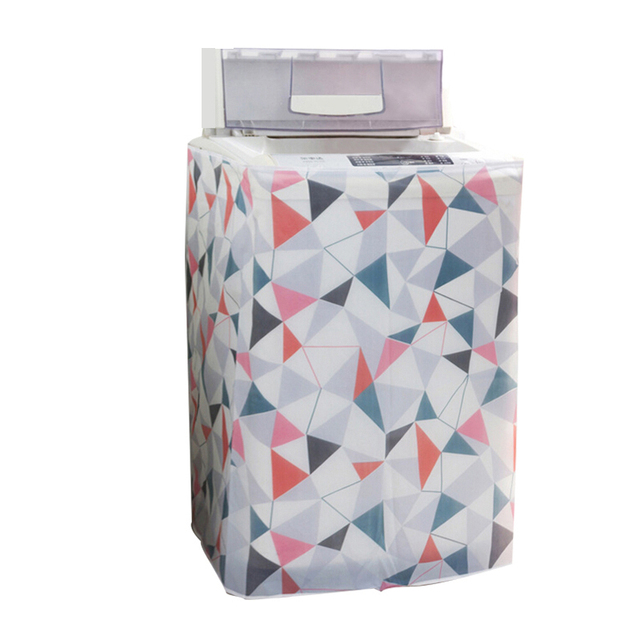 Home Washing Machine Storage Organizer Dust Covers Washer Lid Appliance Waterproof Protector Coat Case Organization Accessories