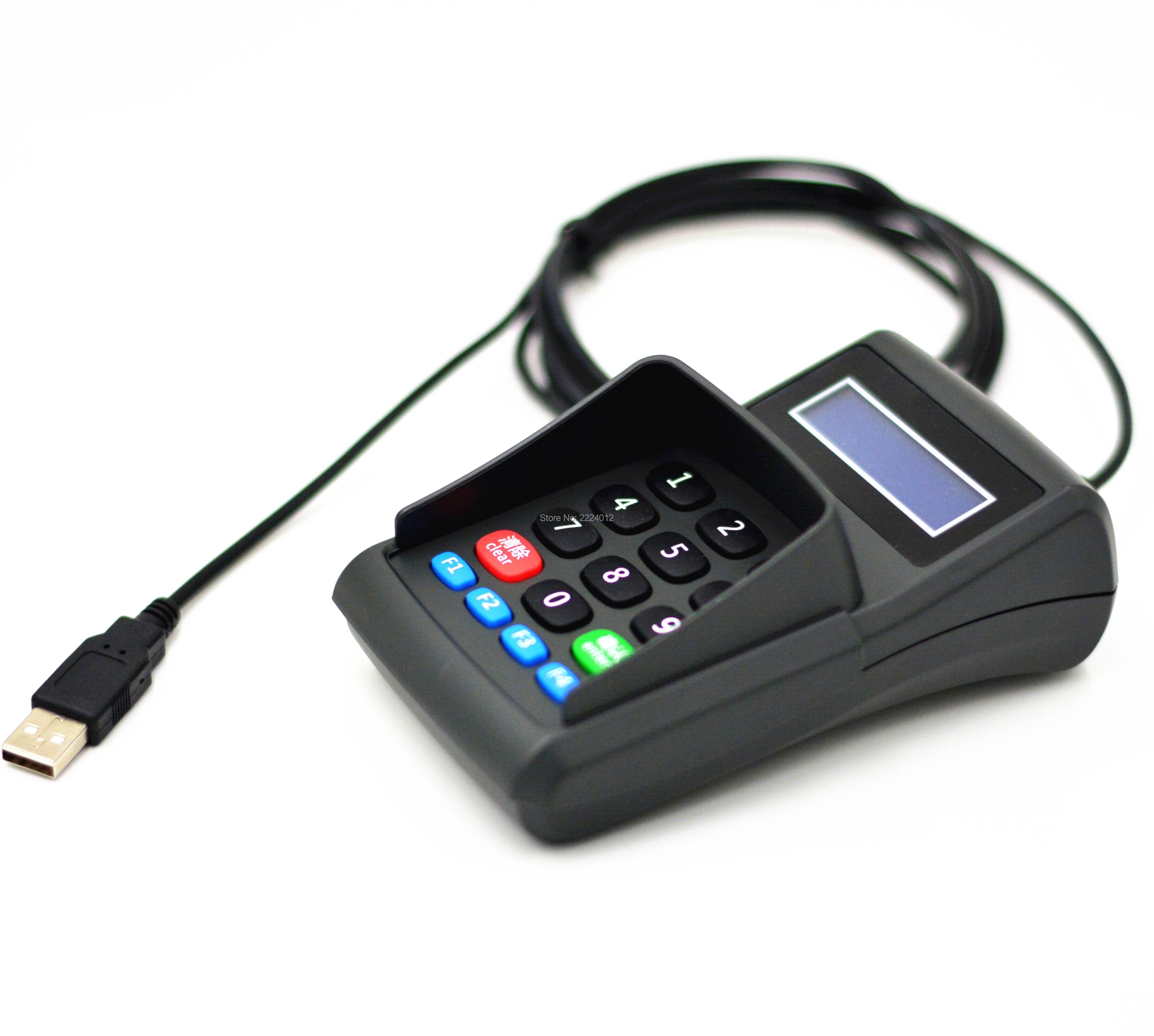 USB YD500B Numeric Keyboard Numpad/Digital Keyboard /Pin Pad With LCD For Bank POS EPOS Terminal Equipment Password Input