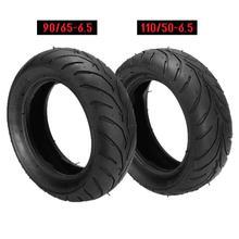 купить Mini Bike Tires 110/50/6.5 90/65/6.5 Front Rear Tire + Inner Tube Bent Valve For 47cc 49cc Mini Dirt Bike Scooter Mini Moto New дешево