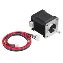 17HS8401S-D150S Double Shaft 48mm Nema 17 Stepper Motor 42 Motor 42BYGH 1.8A 52N.cm 4-lead for 3D Printer CNC Laser(China)