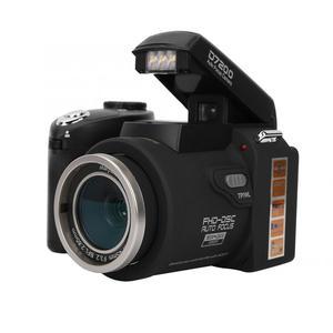 "Image 3 - D7200 33MP דיגיטלי מצלמה DSLR 0.5X רחב זווית עדשה + 24X טלה עדשה + LED אור 3.0 ""TFT LCD תצוגת מלא HD מצלמה"