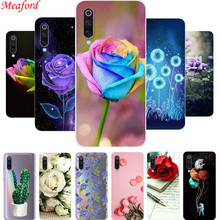 For Xiaomi Mi 9 Case MI9 Soft TPU Silicone Back Cover For Xiaomi Mi 9 SE Phone Case for Xiaomi Mi 9SE Cover Funda Rose Floral стоимость