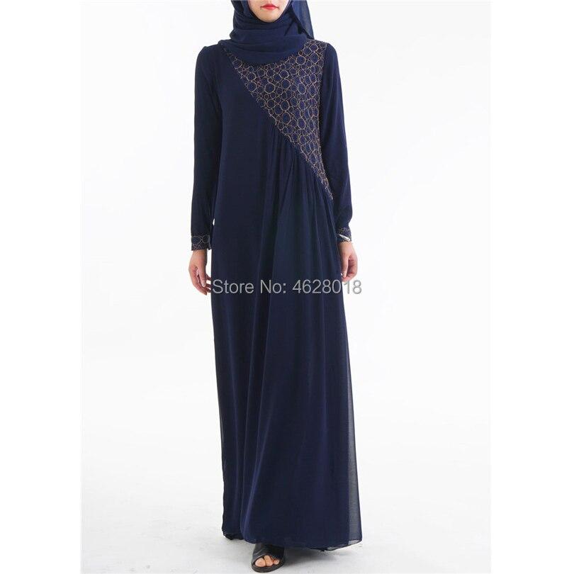 Shirts Imported From Abroad Fashion Muslim Lace Dress Abaya Islamic Clothing For Women Jilbab Djellaba Robe Musulmane Turkish Baju Robe Kimono Kaftan Commodities Are Available Without Restriction