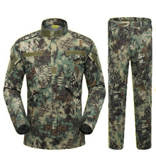ba3aed220f4e3 Desert & Jungle Military Jacket Tactical Clothing Warrior Combat-proven  Airsoft Uniform Camouflage Suit S · 8 Colors Available