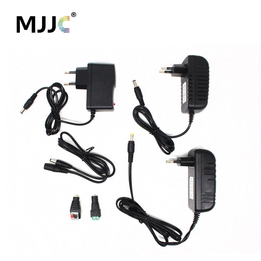 Power Supply 12V 1A 2A 3A 12 Volt Adapter Lighting Transformer 220V 12V AC DC Plastic LED Driver 110V 240V 12V 2A For LED Strip