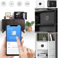 CARD Mark Electronic password Lock Intelligent Safe Box Smart Practical Alloy Steel Safety Box Mobile App Remote Control