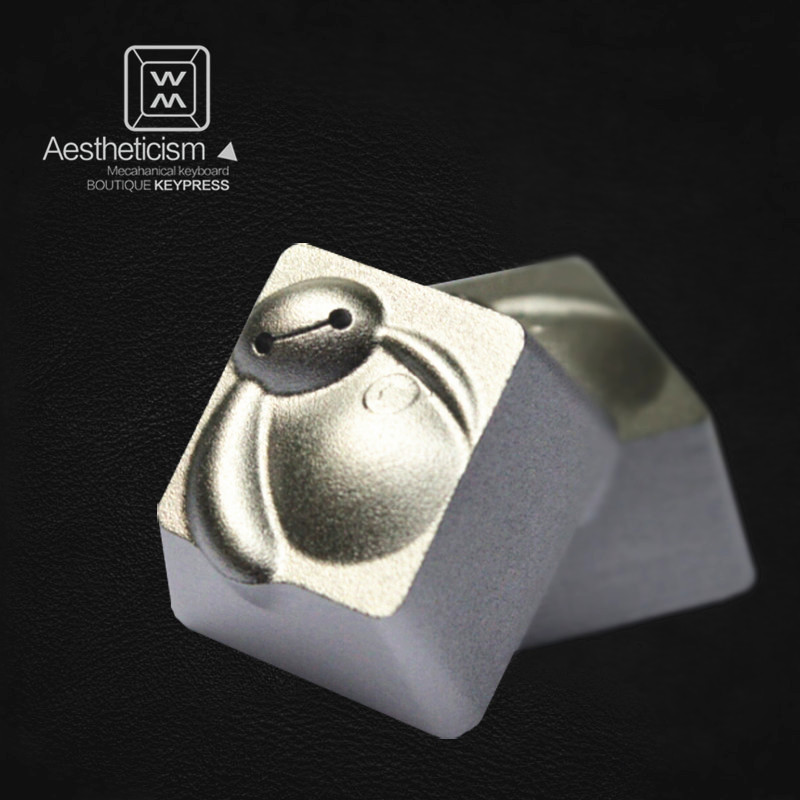 1pc Translucent Anode Aluminium Alloy Keycap Mx Switch R4 Esc Mechanical Keyboard Keycaps For Big Hero 6 Baymax Making Things Convenient For The People