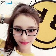 Zilead Brand Designer Plastic Clear Reading Glasses Women Men Double Short Sight Eyeglasses TR90 Fashion Ultralight