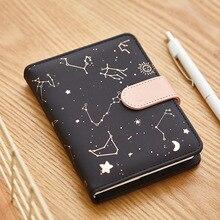 Милый ежемесячный Ежедневник с подкладкой для обучения Блокнот Журнал путешествия