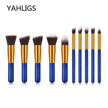 YAHLIGS Mini Makeup Brush 3 Color Cosmetics Kit pincel maquiagem High Quality Make Up Tool Hair Basic Products Brushes YA187