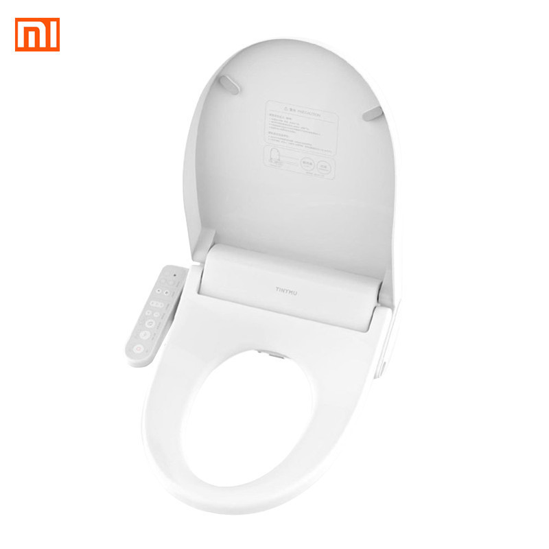 Xiaomi Tinymu Home Smart Anti Bacteria Toilet Seat CN Plug Remote Control 3 Grade Adjustable Heatable Seat for Bathroom Toilet toilet seat