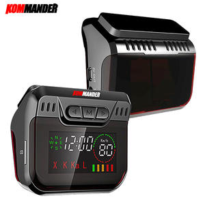 Kommander R600 Radar Detector for Russia LED display Radar Detectors with GPS 2 in