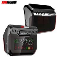 Kommander R600 Radar Detector LED display Radar Detectors with GPS 2 in 1 Car Anti Radar Police Speed Auto X CT K La for Russia