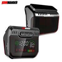 Kommander R600 détecteur de Radar affichage de LED détecteurs de Radar avec GPS 2 en 1 voiture Anti Radar vitesse de Police Auto X CT K La pour La russie