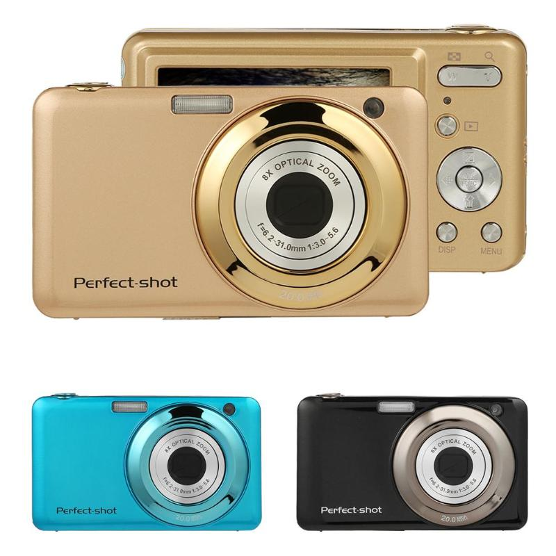 2.7 Inch Digital Camera 8X Optical Zoom Lens 24MP HD Children Camcorder Video Re
