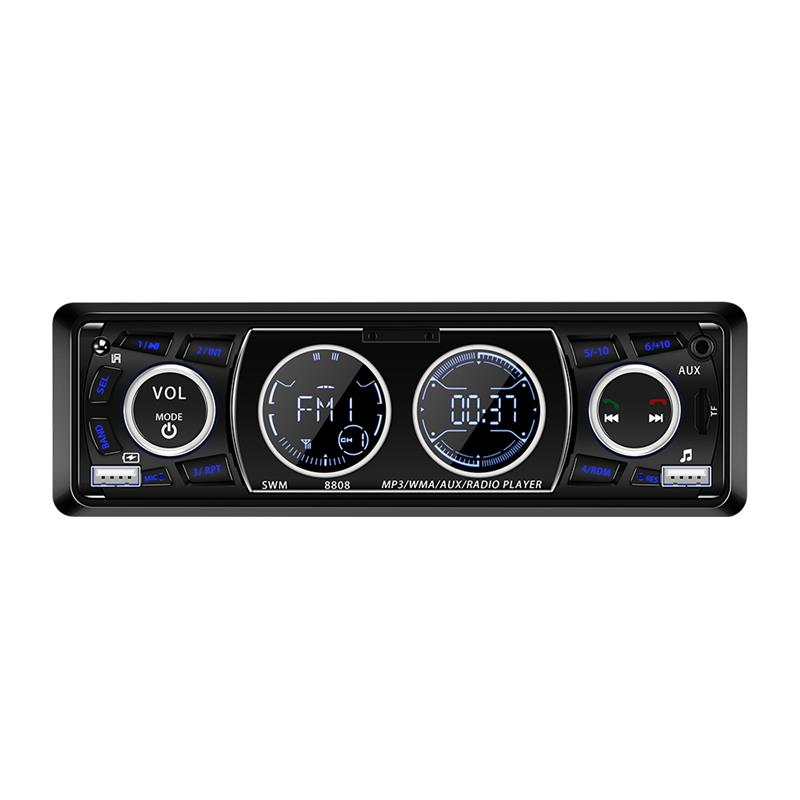 AOZBZ Bluetooth font b Car b font Stereo Audio In Dash MP3 font b Radio b