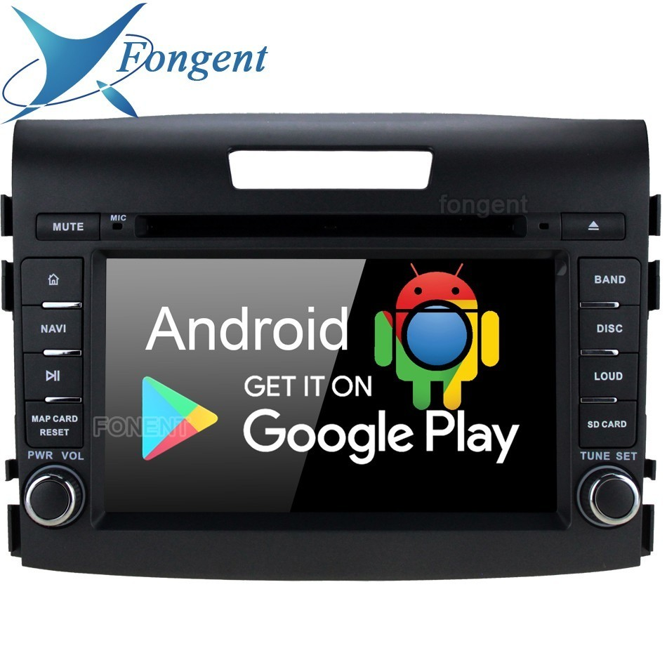 Android 9.0 Octa Core PX6 RK3399 Fit for <font><b>Honda</b></font> <font><b>CRV</b></font> 2012 <font><b>2013</b></font> 2014 2015 2016 Car DVD Multimedia Player Navigator <font><b>GPS</b></font> Radio Stereo image