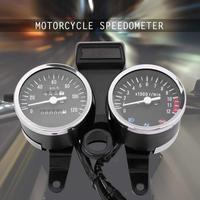 Motorcycle Speedmeter Mechanical Odometer Tachometer Assembly For Suzuki GN125 Sensor Tachometer Oil Level Meter Modern