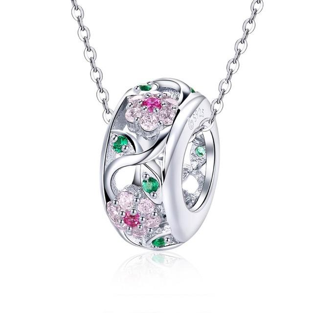 Strieborný korálik DROBNÝ KVET DIY Jewelry pandora style Silver Bead FLOWER