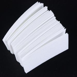 Image 4 - 1 pacote gel polonês removedor almofada toalhetes de unha limpeza de fiapos livre almofada de papel embeber fora removedor manicure algodão guardanapos envoltório ferramenta CH957 1