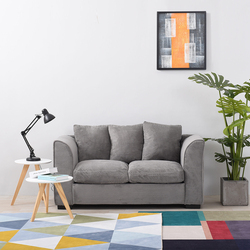 Panana Livingroom Furnitures Corner Sofa Bed /Footstool Seater with Armrest Cushions Pillows