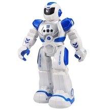 Радиоуправляемый робот с дистанционным управлением, умная экшн-фигурка для ходьбы, пения, танца, экшн-фигурка, жесты, сенсорные игрушки, подарок, робот, зарядка через usb, для танцев для детей