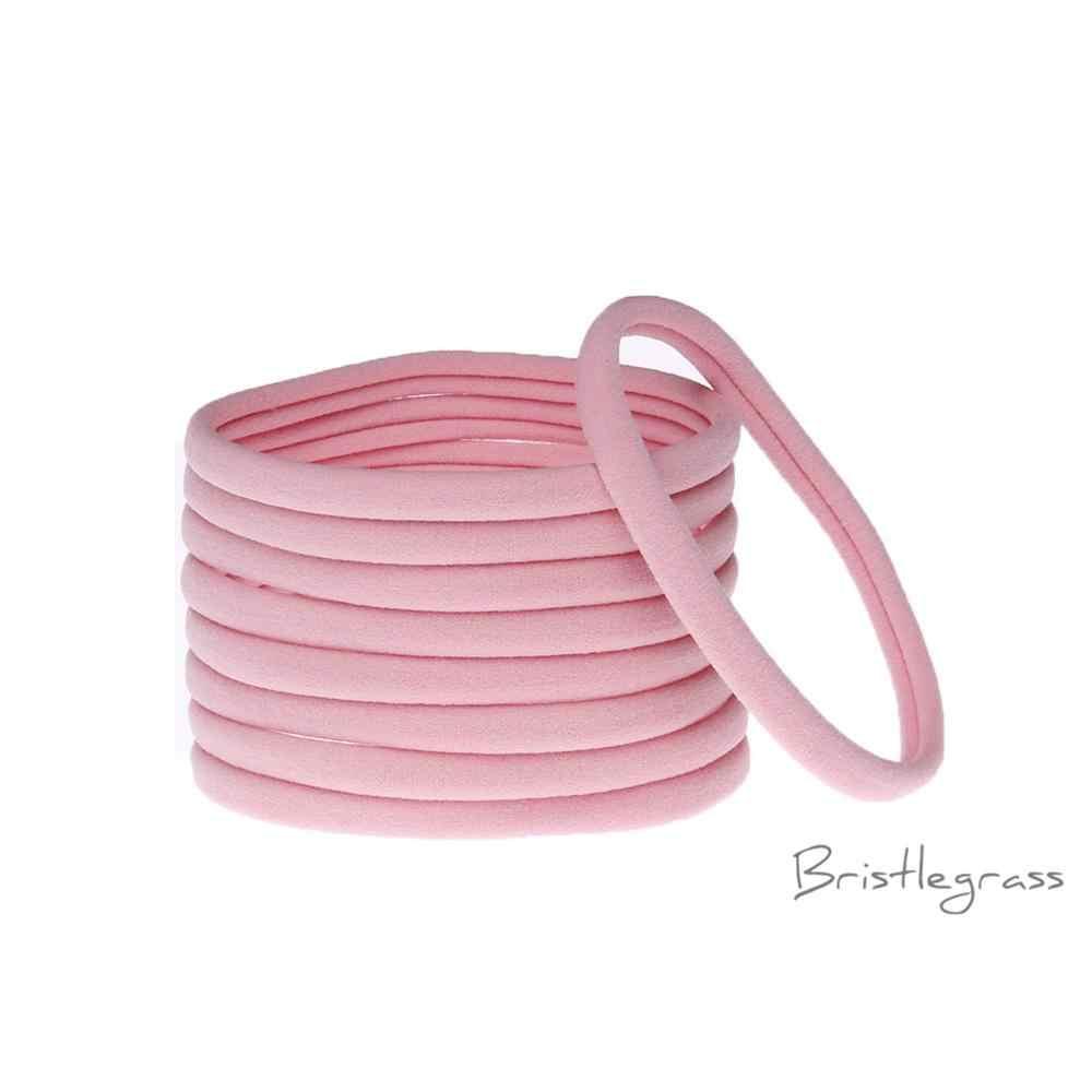 BRISTLEGRASS 3 cái 2.5 cm Kẹo Màu Mềm Spandex Nylon Headband Stretchy Đầu Ban Nhạc Đàn Hồi Bé Thời Trang Mũ Nón Tóc Phụ Kiện Cho