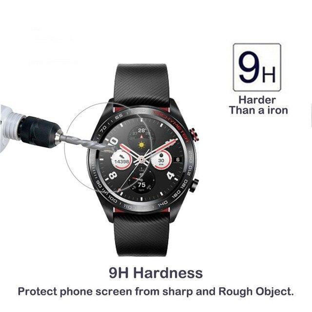 2.5D verre trempé protecteur d'écran pour Huawei Honor montre magique 2 GT 2 2e 42mm 46mm Smartwatch écran garde Film protecteur 3