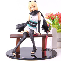 Fate Grand Order Okita Souji Saber Resting Swordsman Action Figure Ver.1/8 Scale Painted Figure Collection Model Toy For Gift