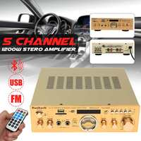 220V 505BT Stereo Amplifier bluetooth Sound Mode Audio Music Booster for Car Motorcycle Home 300W
