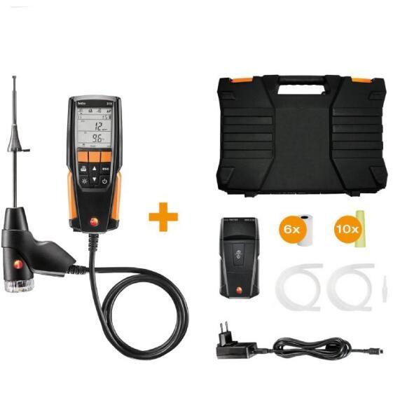 Measuring Range 0 To 4000 Ppm Testo 310 Flue Gas