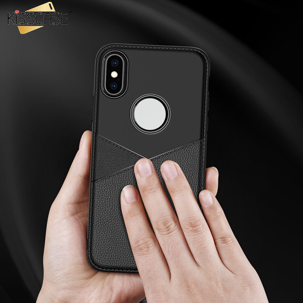 KISSCASE Retro Leather Phone Case For Samsung S10E S10 Plus Ultra Thin Cases For Samsung <font><b>J2</b></font> J3 J4 J5 J6 J7 J8 A6 A7 A9 <font><b>Capinhas</b></font> image