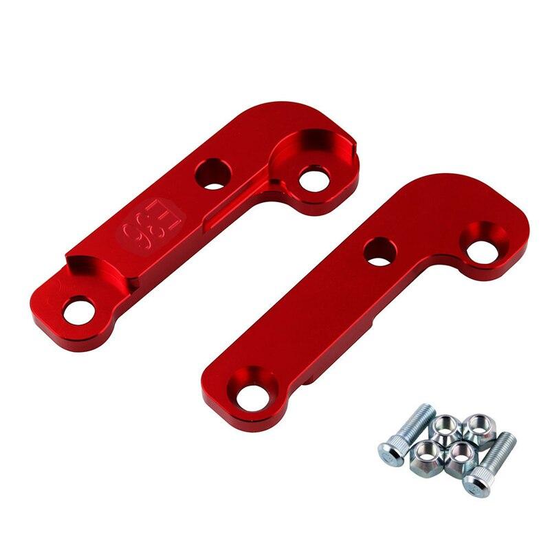 2 pièces de Tuning En Aluminium Dérive Adaptateurs et De Montage l'augmentation de turn angle environ 25% E36 Drift verrouillage kit pour bmw M3