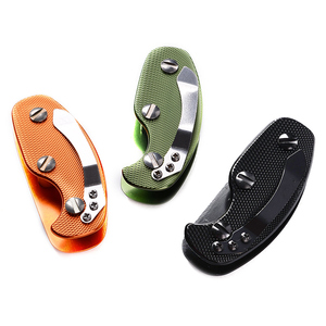 Image 4 - 다기능 야외 키 주최자 포켓 키 홀더 키 바 EDC 도구 휴대용 접는 키 체인 알루미늄 키 바