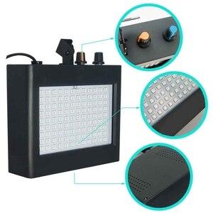 Image 4 - 180 Leds Strobe Flash Light Portable 35W Rgb Remote Sound Control Strobe Speed Adjustable For Stage Disco Bar Party Club Eu Plug