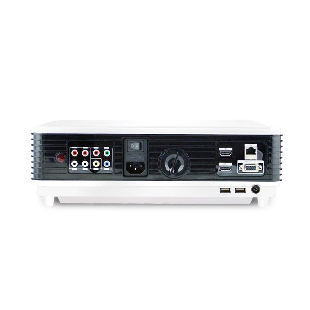 AAO Original LED – 96 + Plus LCD Projector 2800 Lumens WiFi 1280 X 800 Pixels 1080P Full HD Video Projectors HDMI USB RCA