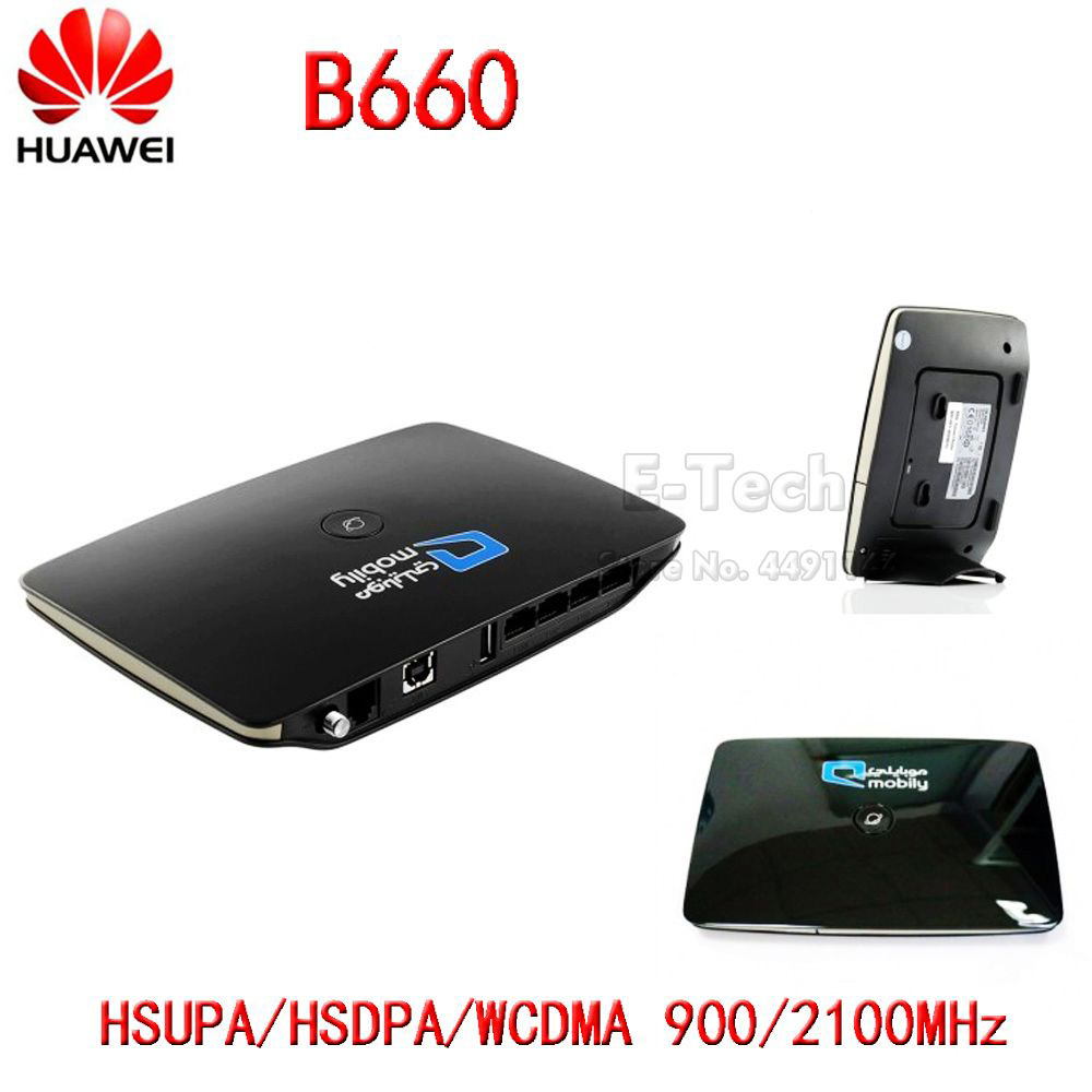 US $45 66 |Huawei B660 HSPA+ WCDMA 900/2100Mhz Wireless Gateway Mobile  Router / FWT / FCT gateway,support Data service-in 3G/4G Routers from  Computer