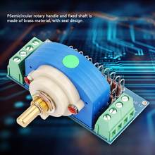 Newstyle 12 Step Stepping Stereo Volume Potentiometer Dual 50K Amplifier Volume Pot dual channel Volume Rotary Switch(China)