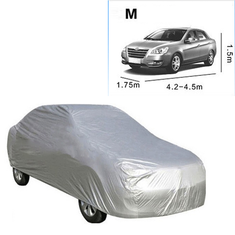 Auto Covers Full Car Cover Auto Universal Universal Full Car Cover Anti UV Dust Protection