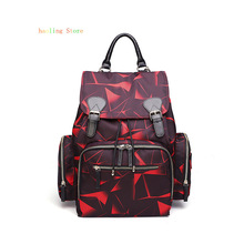Mummy Bag Multi-function Waterproof Polyester Baby Care Backpack Women Leisure Double Shoulder Free shipping