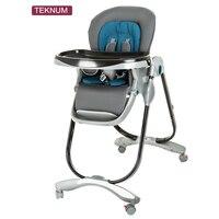 Teknum Стульчик для кормления Детское кресло складываемый Легко носить с собой