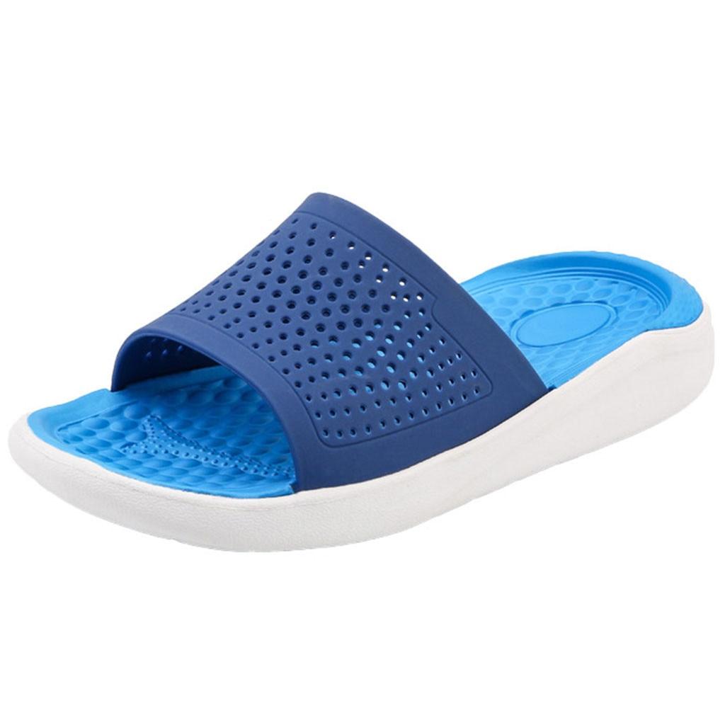 Liberal Herren Strand Unisex Sommer Strand Flip-flops Designer Mode 2019 Sandalen Aushöhlen Casual Atmungsaktive Hausschuhe Wohnungen Schuhe #89 Schuhe