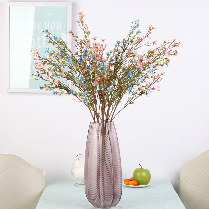 Home Direct False Plum Blossom Bloom Simulation Plum Blossom Branch Wholesale Chinese Plum Blossom Branch Wedding Residence Inn in Artificial Dried Flowers from Home Garden
