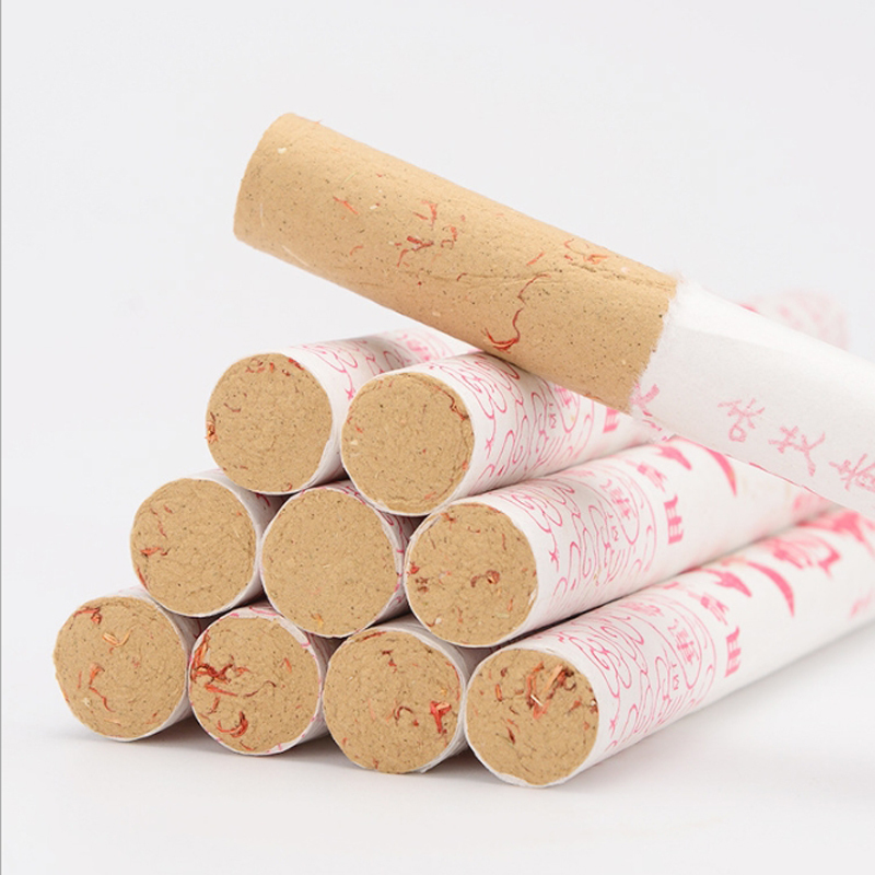 Handmade safflower moxa stick Traditional Chinese Massage Therapy For Antistress & Acupuncture 10 Pure Moxa Stick RollsHandmade safflower moxa stick Traditional Chinese Massage Therapy For Antistress & Acupuncture 10 Pure Moxa Stick Rolls