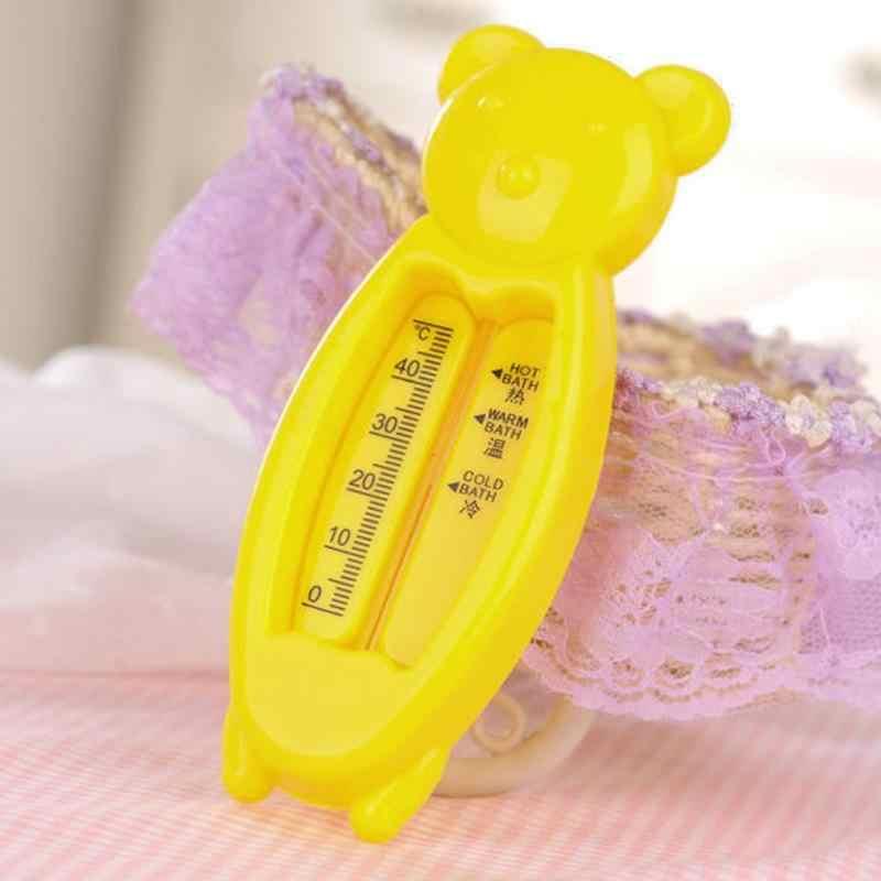 Термометр для воды, медвежонок, плавающий термометр, пластиковая Ванна, датчик воды, термометр для домашнего использования, инструменты для ухода за ребенком, плавающий, милый, новый