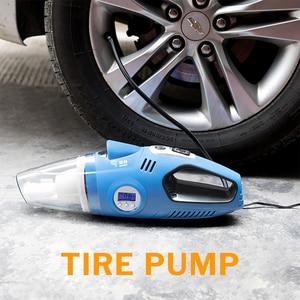 Image 3 - Windek Car Vacuum Cleaner 12V Portable + Auto Electric Air Compressor Digital Tire Inflator Pump for Tires