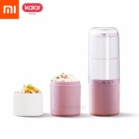 Xiaomi Mijia Kalar 990ml Super Capacity Vibrant Lunch Box Food Grade Pp Material Refrigerated Heating Safety For Tourism Food