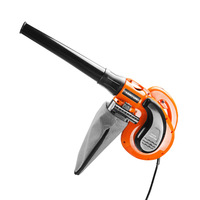 220V Portable Electric Air Blower Vacuum Blowing Dust Collector Hand leaf Blower Fan Turbo Suck Computer Cleaner Car Garden mini