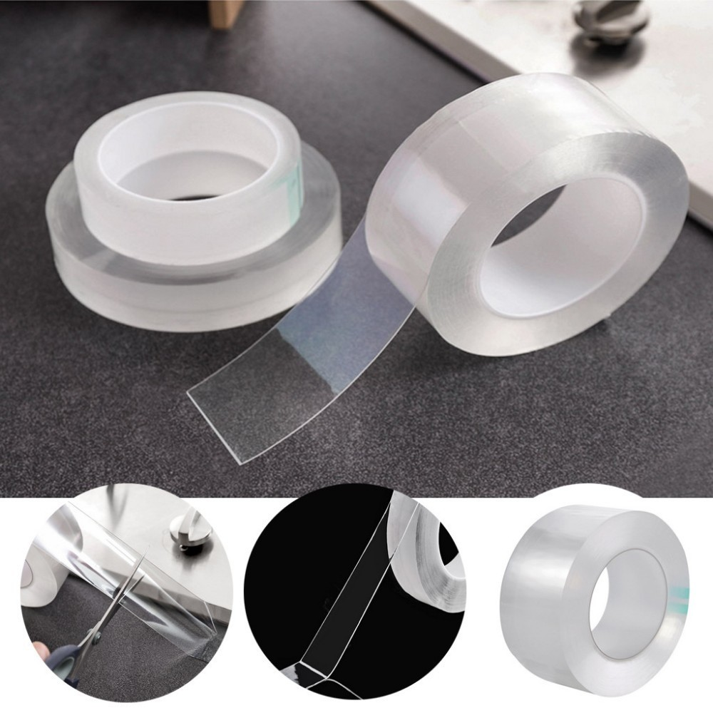 Portable Easy To Use Transparent Acrylic Waterproof Mildew-proof Self-adhesive Tape Kitchen Sink Corner Line Stick Strip