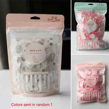 50PCS travel Wet Wipes magic compressed towel beauty cleaning wash face towel mini disposable towels #1129 - DISCOUNT ITEM  20% OFF Beauty & Health